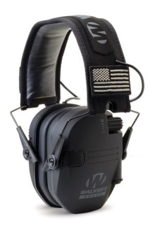 Razor Patriot Series - Razor Slim Electronic Muff - Black Patriot